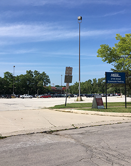 Metra lot closes Sept. 1