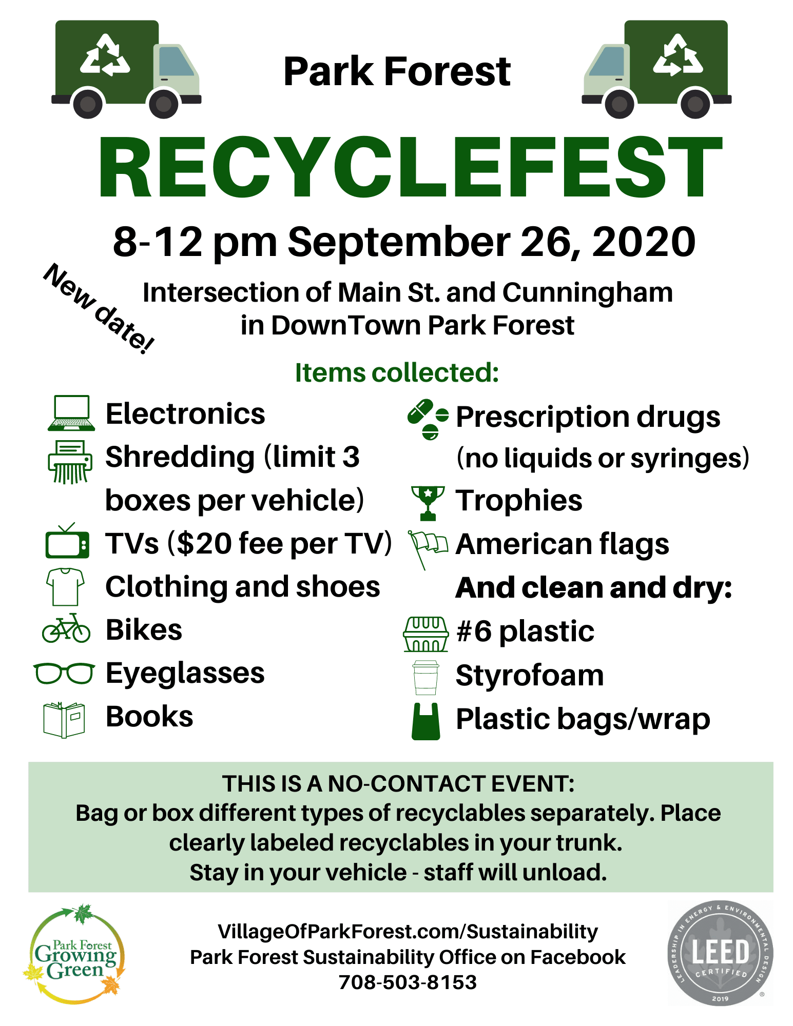 Recyclefest Flyer