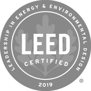 LEED 2019 CERTIFIED Opens in new window