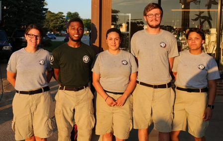 AmeriCorps NCCC Volunteers Begin Six Weeks of Service in Park Forest