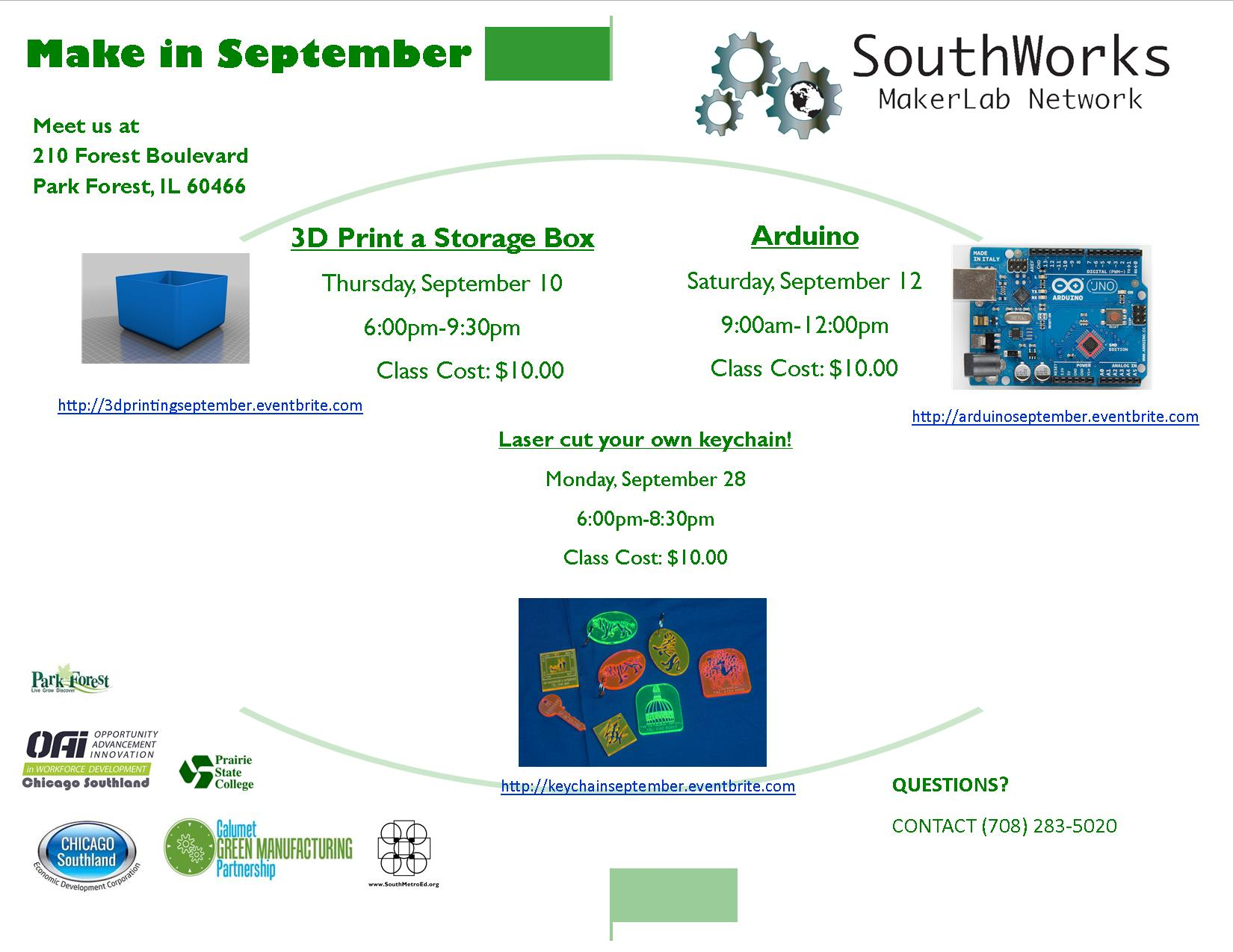 Flyer for Maker Space Workshops September.jpg