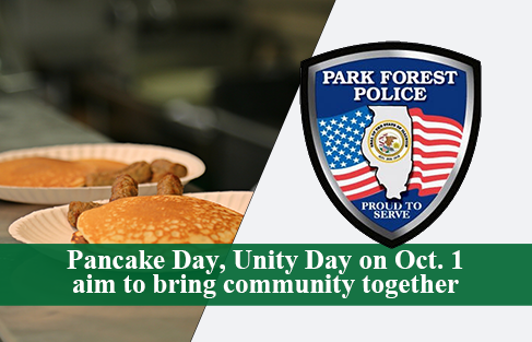 Unity Day: Strengthening the Ties between the Park Forest Community and the Police on Saturday, October 1