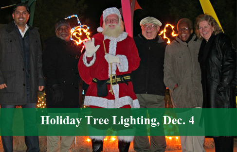 Park Forest's Annual Holiday Tree Lighting to Take Place on Friday, Dec. 4
