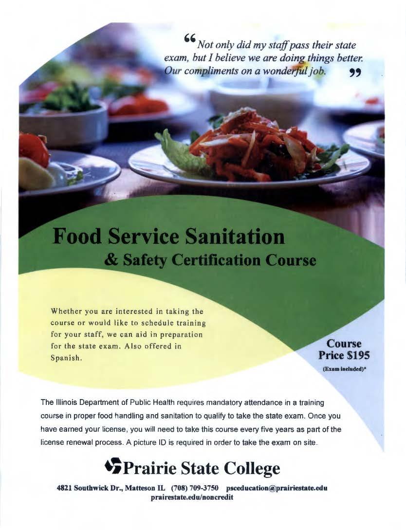 Food Service Sanitation Course