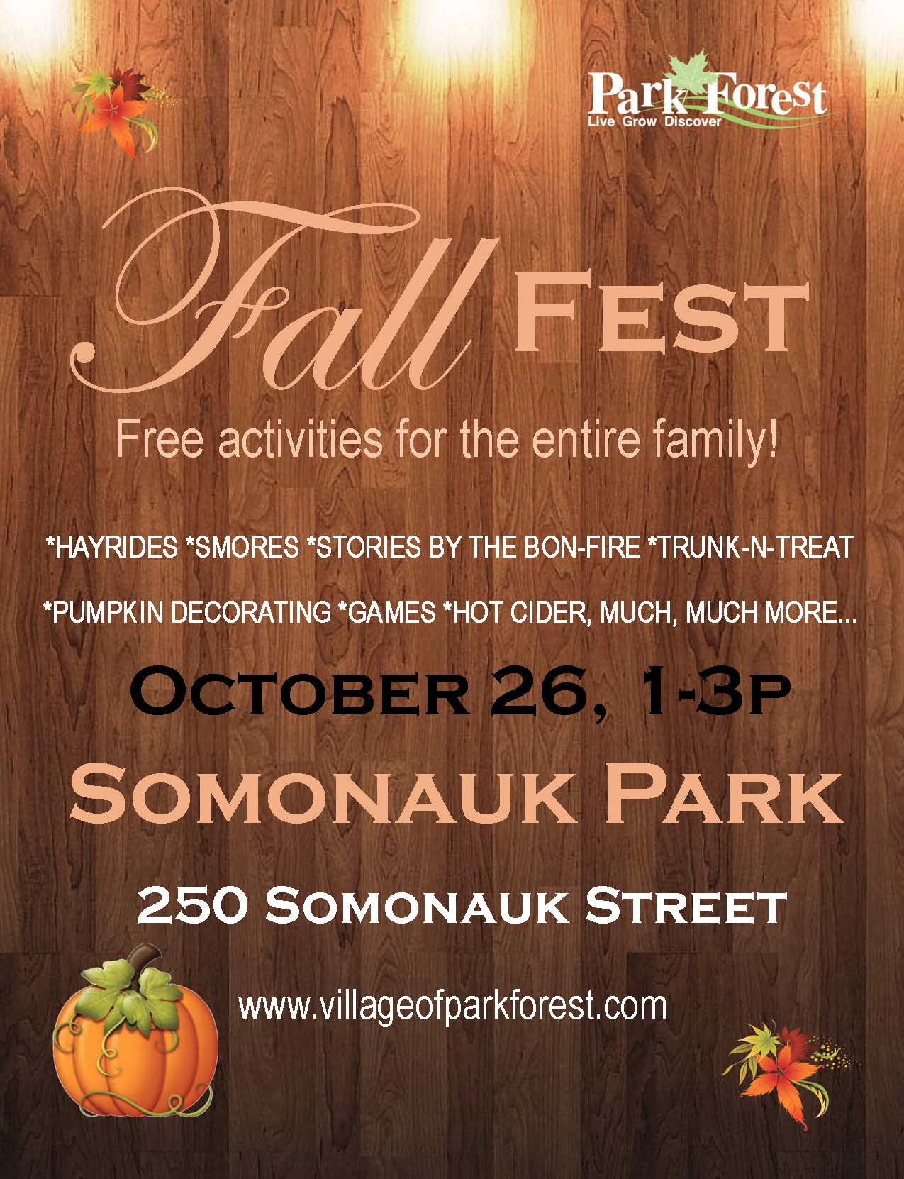 Fall Fest 2019 Flyer portrait
