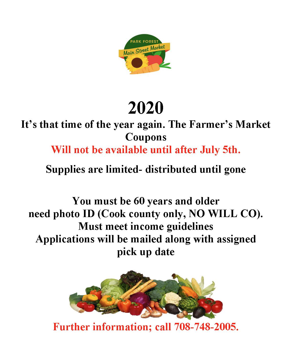 Farmer senior coupon flyer 2020